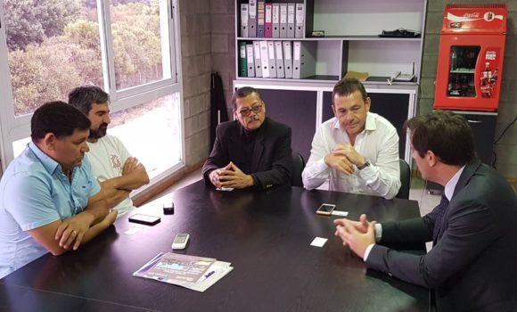 Visita del Embajador de Nicaragua